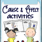Cause and Effect Activities &amp; Worksheets