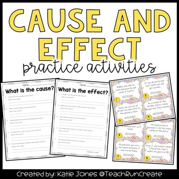 Cause and Effect [Common Core]