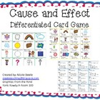 Cause and Effect Differentiated Card Game