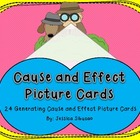 Cause and Effect - Picture Cards