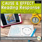 Cause and Effect: Reading Response Flip Book