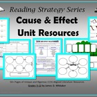 Cause and Effect Relationships Unit Resources Common Core