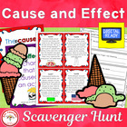 Cause and Effect Scavenger Hunt