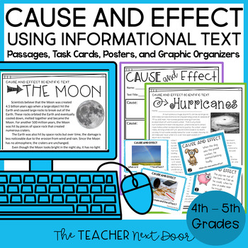 Cause and Effect Using Informational Text: 4th and 5th Grade Common Core