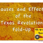 Causes and Effects of the Texas Revolution Fold-Up and Ref