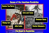Causes of American Revolution: Road to Revolution Common C