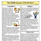 Causes of WWI: Alliances