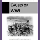 Causes of WWI Differentiated Instruction Lesson