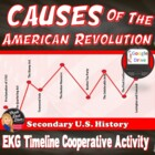 Causes of the  American Revolution Activity EKG Timeline (