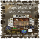 Cave Paintings and Petroglyphs:  Maps, Mural, Mini Museum, PDF
