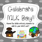 Celebrate MLK Day!! (a supplemental packet)