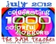Celebrating 1000 Colorful Bloggers: Free Mystery Clip Art Set