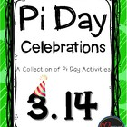 Celebrating Pi - A Collection of Pi Day Activities