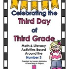 Celebrating the Third Day of 3rd Grade- polka dot theme