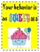 Celebration Center:  Good Behavior Signs