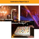 Celebrations Report Interactive Quiz 3
