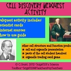 Cell Discovery Webquest Activity