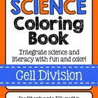 Cell Division Coloring Book