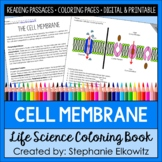 Cell Membrane Structure and Function Coloring Book