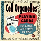 Cell Organelles Game Cards