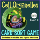 Cell Organelles Mix & Match Game