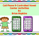 Cell Phone R Controlled Vowel Activities - Texting, ABC Or