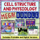Cell Physiology MegaBundle: Cells, Mitosis, Enzymes, Photo
