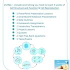 Cell Unit Lesson Plan Bundle - 21 files