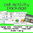 Cell Unit Material - Lab and Activity Package
