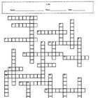 Cells Crossword Puzzle with Key