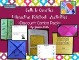 Cells & Genetics Interactive Notebook Pages & Foldables {D