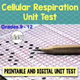 Cellular Respiration Test