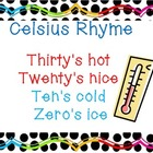 Celsius Rhyme
