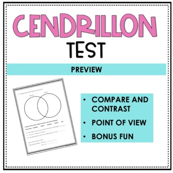 Cendrillon Test - A Story of Cinderella