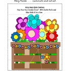 Center Bag Printables - Math and Literacy Combined - Mary