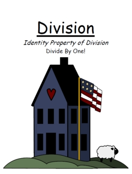 Center Game Math ~ Divide By One ~ Identity Property of Division!
