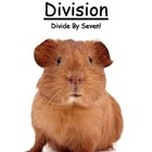 Center Game Math Division ~ Divide By Seven ~Great for Hom