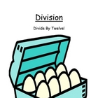 Center Game Math Division ~ Divide By Twelve! ~ Great for