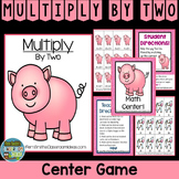 Multiplication 2 Times Tables - Doubles Concept Center Game