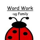 "Center Game ""The -ug Family!"" Word Work / Phonics / Spelling Unit"