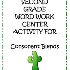 Center Matching Game: Consonant Blends