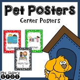 Center Signs {Paw Prints}