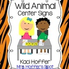 Center Signs {Wild Animal}