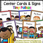 Center Signs and Cards (Cutie Kids)- Programmable