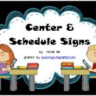 Center Signs by Nichole Leib