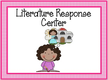 Centers Posters and Classroom Labels