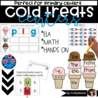 Centers { math/literacy cold treat theme }