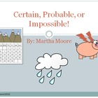 Certain, Probable, or Impossible PowerPoint