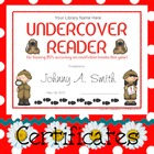 Certificates: 4 Detective Reading Awards - Some parts are 