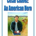 Cesar Chavez Packet: Reading Comprehension, Study Guide &amp; Test